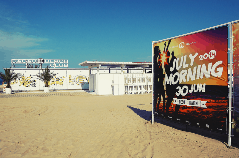 Cacao beach July morning vision re-design by muse creativity